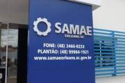 SAMAE reajusta tarifas de água e esgoto e demais serviços